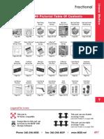 Catálogo - Movimiento Lineal (Fraccionales)