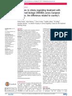Putrik 2014 - Access to RA Biologics