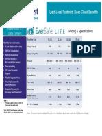 EverSafe Lite Pricing