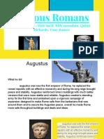 famous romans