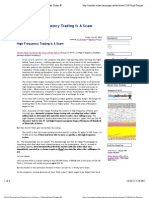 High Frequency Trading Is A Scam - The Market Ticker ®