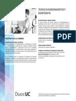 Tecnico en Radiodiagnostico y Radioterapia