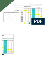 Cronograma Execução Serviços -SPDA