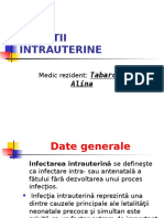 Infectiile Intrauterine
