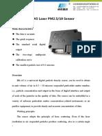 HK-A5 Laser PM2.5 Sensor V1.0