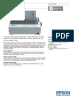 Epson FX 890 Ficha Técnica