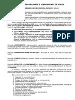 Apostila de Compressibilidade e Adensamento (Teoria e Exercicios Resolvidos)