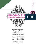 Rhong-Tiam   Plainsboro, New Jersey