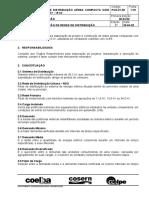 VR01.02-01.003 - Projeto de Rede de Distrbuição Aerea Compacta Com Espaçador - Poste DT 15 KV
