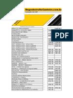 Cronogramas de Obra - Excel
