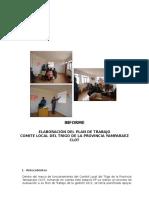 Informe Plan de Trabajo