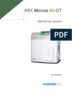 ABX Micros 60-OT - Manual Do Usuário