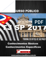 APOSTILA TJ SP 2017 ASSISTENTE SOCIAL + VÍDEO AULAS