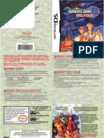 Advance Wars - Dual Strike - Manual - NDS
