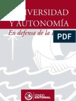Universidad y autonomía