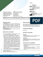 Controle Multiparâmetros de Três Níveis - ABX Minotrol 16 - Equipamentos de Hematologia - Para Utilização Em Diagnóstico in Vitro _a01a00051mpt_abx_minotrol_16