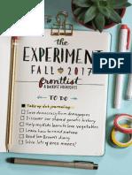 The Experiment Fall 2017 Catalog