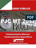 APOSTILA PJC MT 2017 DELEGADO + VÍDEO AULAS