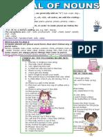 2. Ficha de Trabalho - Plural of Nouns (3)