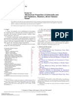 Test Methods for Determining the Mechanical Properties of Externally and Internally Threaded Fasteners, Washers, Direct Tension Indicators, And Rivets