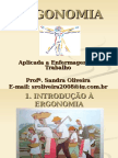 Assunto Da i e II Unidade Ergonomia