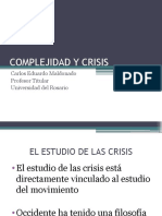 Complejidad y Crisis