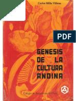 Carlos miLLa - génesis de la arquitectura andina