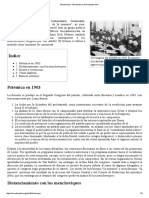 Bolchevique - Wikipedia, La Enciclopedia Libre