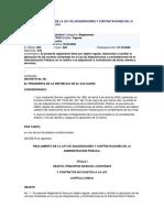 El Salvador Reglamento de La Ley de Adquisiciones y Contrataciones de La Administración Pública 2005