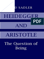 Heidegger and Aristotle The Question of Being - Ted Sadler.pdf