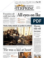 2008 - Ike - Front Pages