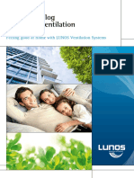 LUNOS Catalogue for Home Ventilation