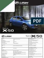 Especificaciones Tecnicas SUV Lifan X50 Camioneta
