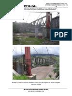 Informe Fotográfico de Avance de Obra - Puente Pucayacu