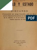 Pueblo y Estado (Chile) - Jorge Gonzales