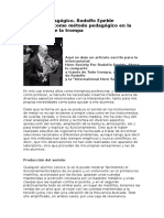 Artículo Pedagógico de Rodolfo Epelde.La analogía como método pedagógico en la enseñanza de la trompa