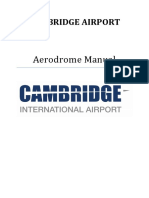 Cambridge Airport Aerodrome Manual V13.0
