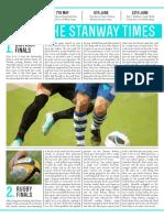 Stanway Times rebranding