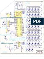 Digital LED Clock schematics