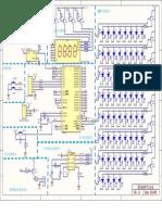 Digital LED Clock schematics