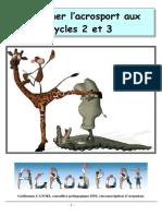 EPS-Acrosport-Enseigner l Acrosport Au Cycle 2 Et 3-2010-Ac. Caen