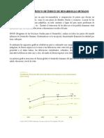 Analisis Estadistico de Indice de Desarrollo Humano