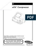 Invacare Homefill Compressor Manual