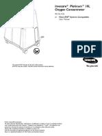 1193323 Invacare Platinum 10L Manual
