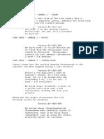 Mitosis Script