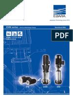 EVM Ebara Pump