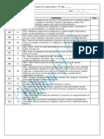 Avaliação Diagnóstica - 8º Ano 2015