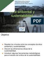 Ética ambiental y Sustentabilidad Lucas Seghezzo