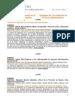 Boletín Infojuba Contencioso Especial Adm Nro 31