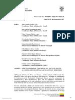 DIRECTRICES PARA EL DESEMPE+æO DEL DOCENTE EBJA mineduc-seei-2017-00251